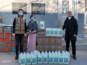 Yide Public Welfare with Jinde Charities to donate materials for Wuhan epidemic
