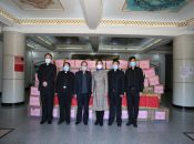 Catholic Church Association Donated Protective Materials to Two Hospitals in Heilongjiang Province
